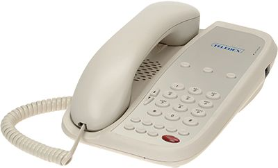 Teledex I Series A203 two line hotel phone
