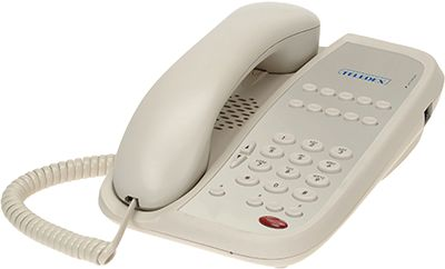 Teledex I Series ND2110S single line hotel phone