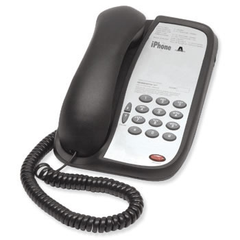 Teledex I Series A100 basic single line hotel phone