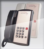 TeleMatrix 2800mwb Marquis hotel phone room telephone