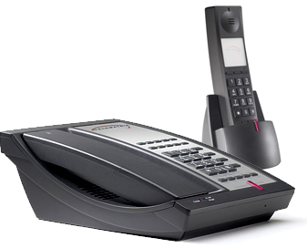 Telematrix 9600 DECT 2MWD10 cordless phone two-line 10 guest services buttons