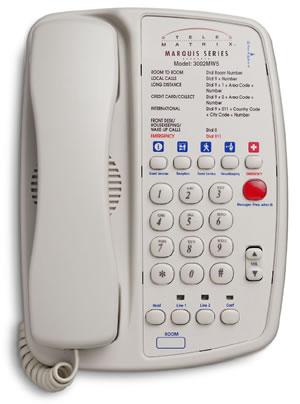 Telematrix 3000mw5 Hotel Phone 3000 Mw5 Telephone